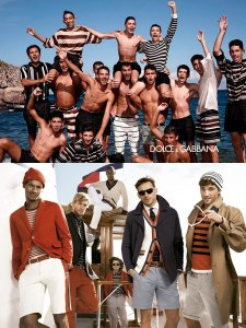 Nautical, style, men's trends