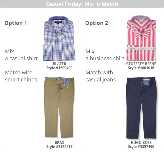 Casual Friday dress options